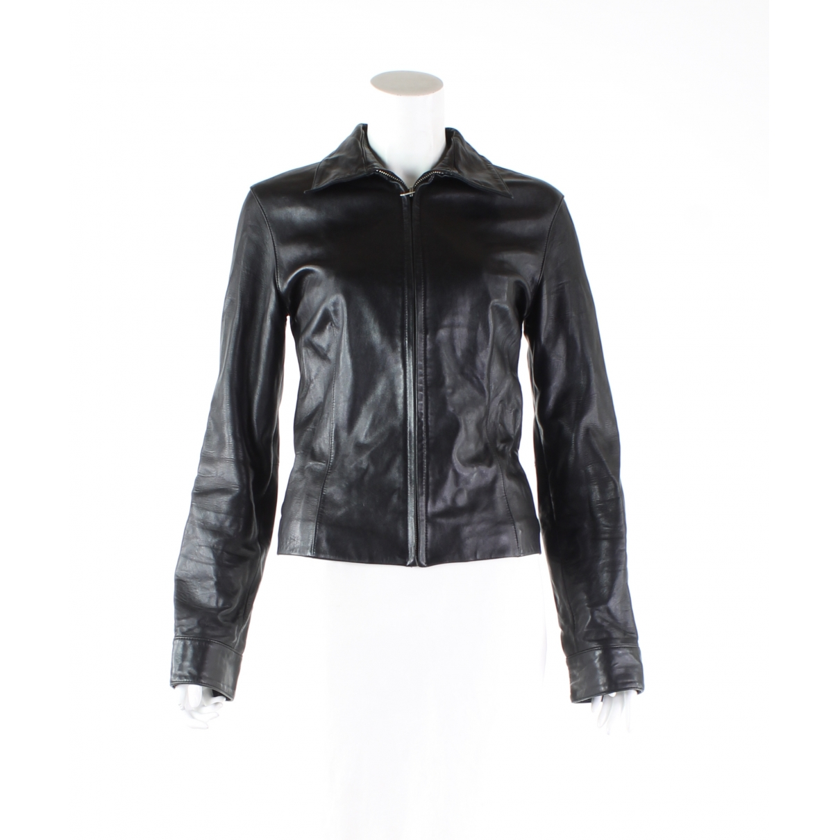 Calvin Klein \N Black Leather jacket for Women M International