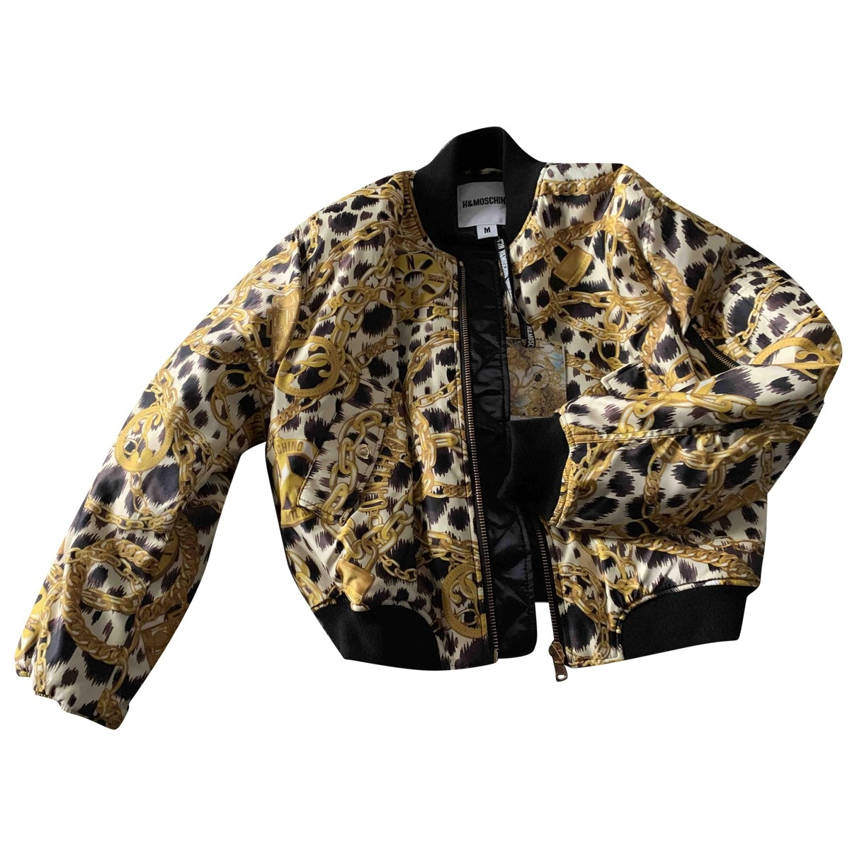 Moschino For H&m \N Gold jacket for Women M International