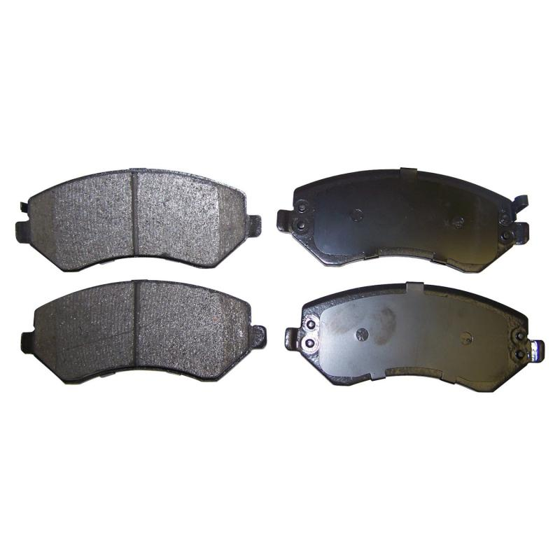 Crown Automotive 5066427T Jeep Replacement Disc Pads and Brake Shoes Jeep Liberty Front 2002-2007