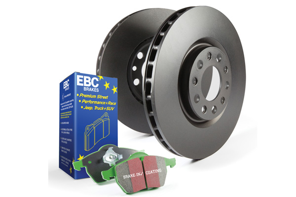 EBC Brakes S11KF1117 S11KF Kit Number Front Disc Brake Pad and Rotor Kit DP21210+RK7649 Cadillac ATS Front 13-19