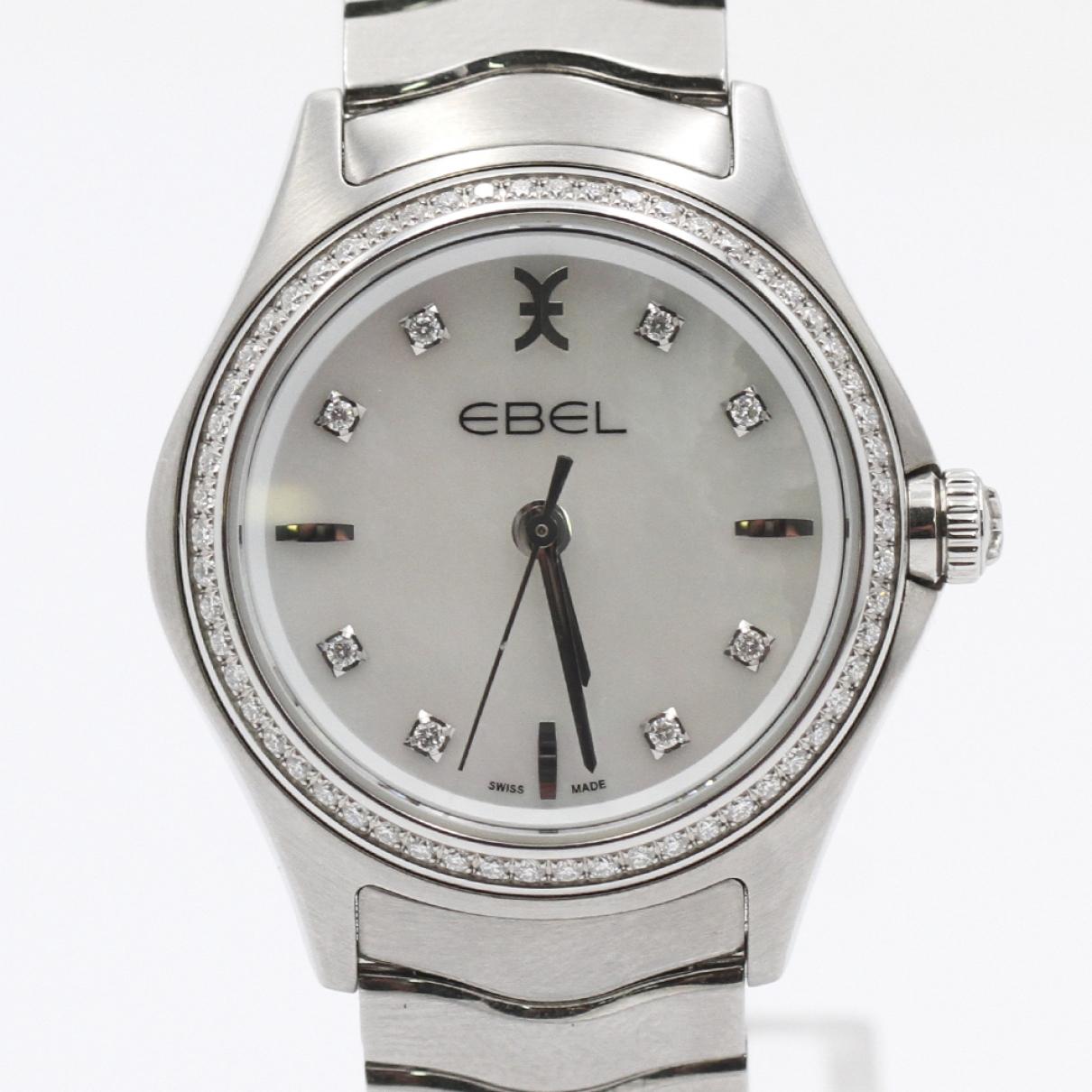 Ebel Wave Silver Steel watch for Women \N