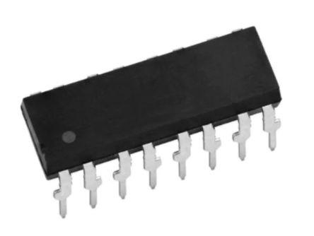 Vishay , ILQ620 AC Input Phototransistor Output Quad Optocoupler, Through Hole, 16-Pin PDIP (5)