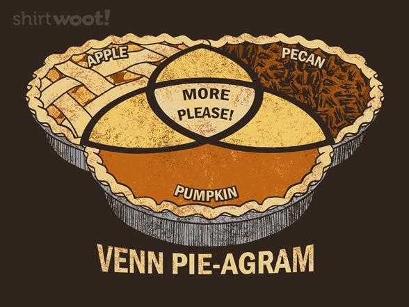 Venn Pie-agram T Shirt