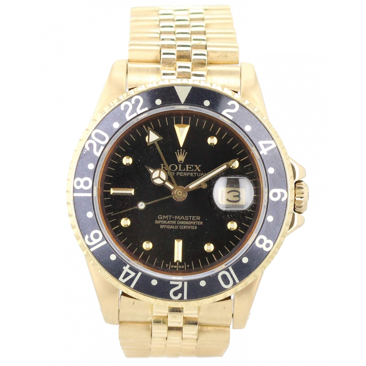 Rolex GMT Master Yellow gold watch for Men \N