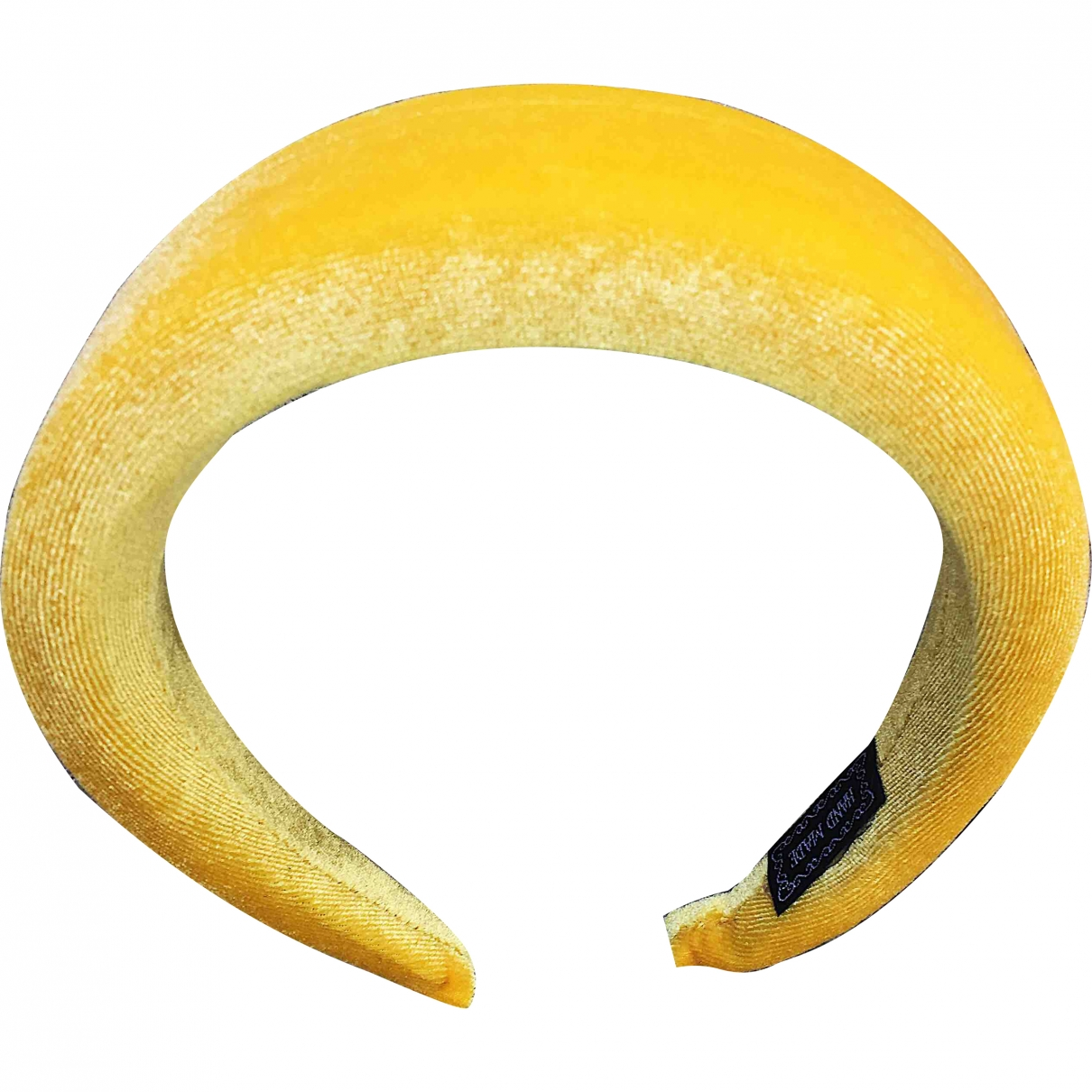 Non Signé / Unsigned \N Yellow Cloth Hair accessories for Women \N