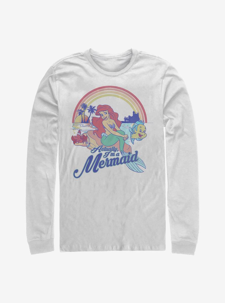 Disney The Little Mermaid Actual Mermaid Long-Sleeve T-Shirt
