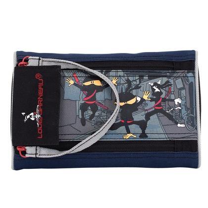 Louis Garneau Étui à crayons Ninja 2-Zipper, 20 x 12.5 x 5 cm (1001379)