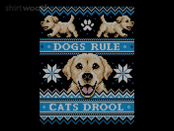 Retriever - Cats Vs. Dogs Sweater T Shirt