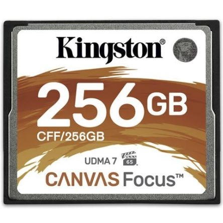 Kingston Canvas Focus 256 GB Compact Flash Card