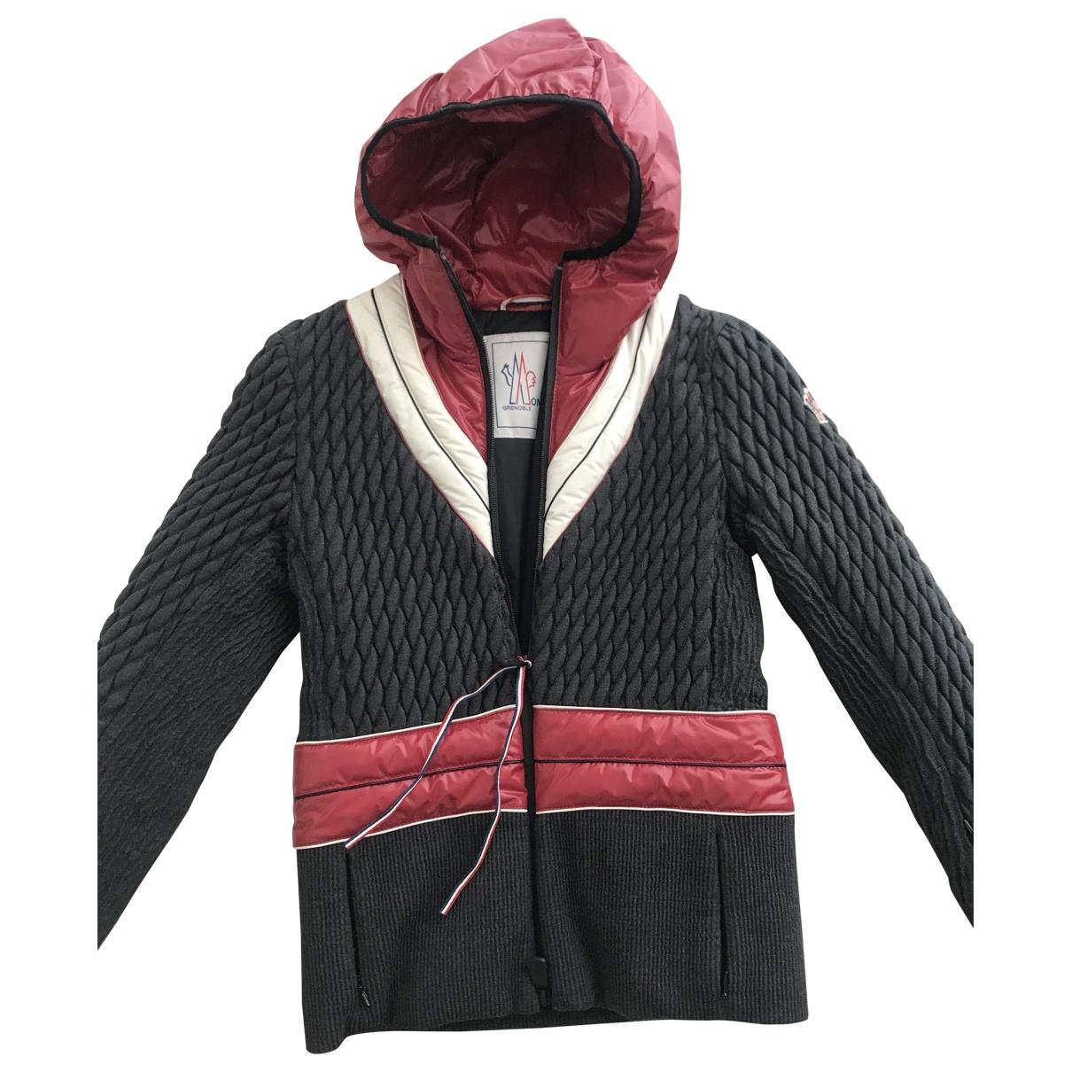 Moncler Grenoble Anthracite jacket for Women 2 0-5