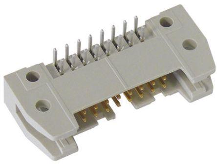 HARTING , SEK 18, 64 Way, 2 Row, Right Angle PCB Header
