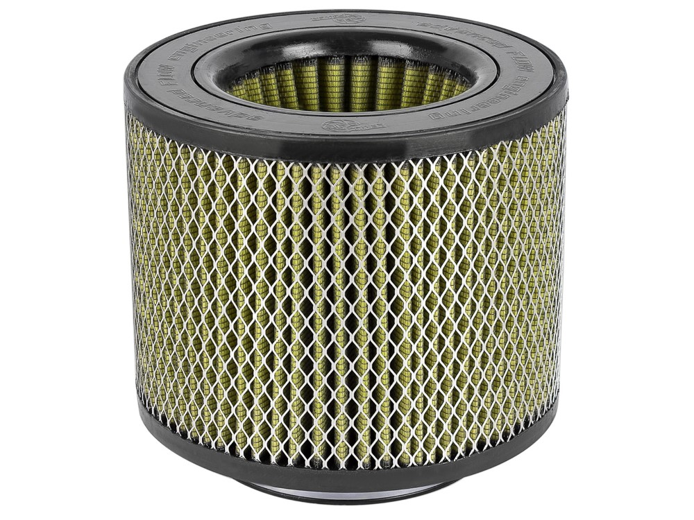aFe Magnum FLOW Intake Replacement Air Filter w/ Pro GUARD7 Media 5-1/2 F x 9 IN B x 9 IN T (Inverted) x 7 IN H w/ Expanded Metal