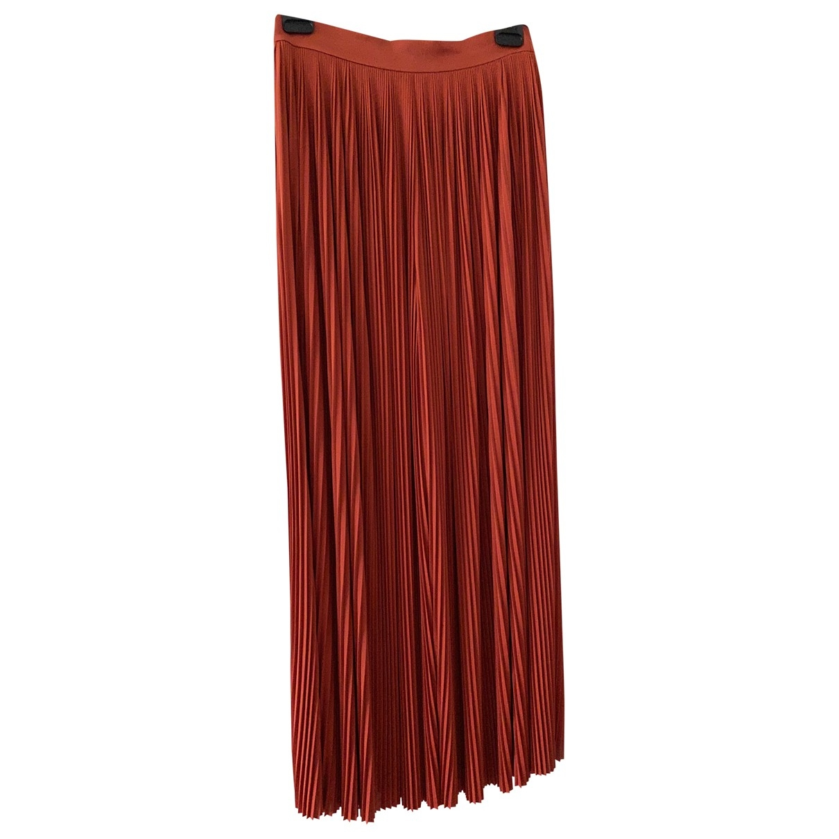 Chanel \N Red Silk Trousers for Women 40 FR