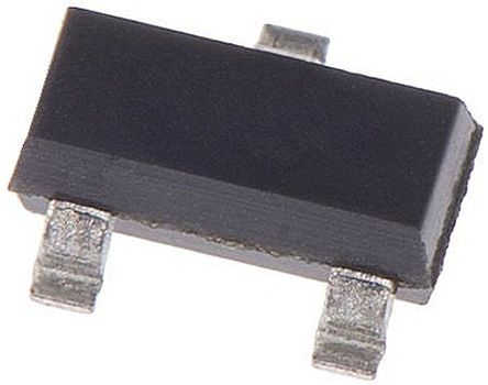 ON Semiconductor ON Semi 100V 200mA, Dual Silicon Junction Diode, 3-Pin SOT-23 MMBD1204 (10)