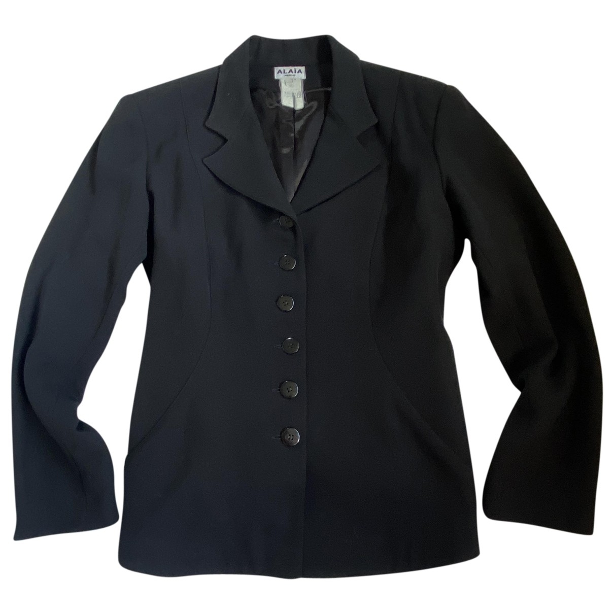 Alaïa \N Black Wool jacket for Women 42 FR