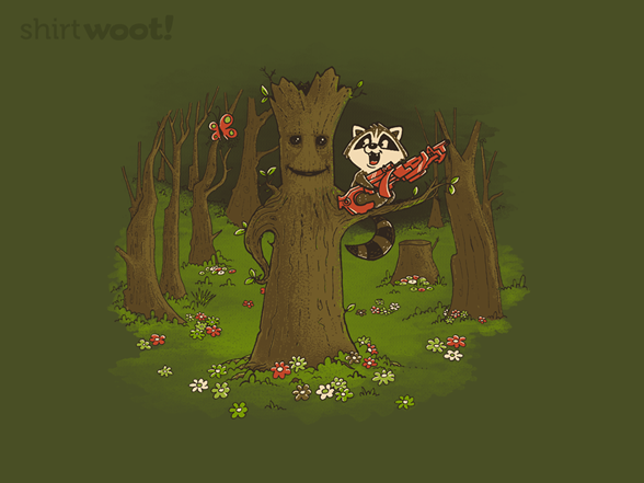 Guardians Of The Forest T Shirt