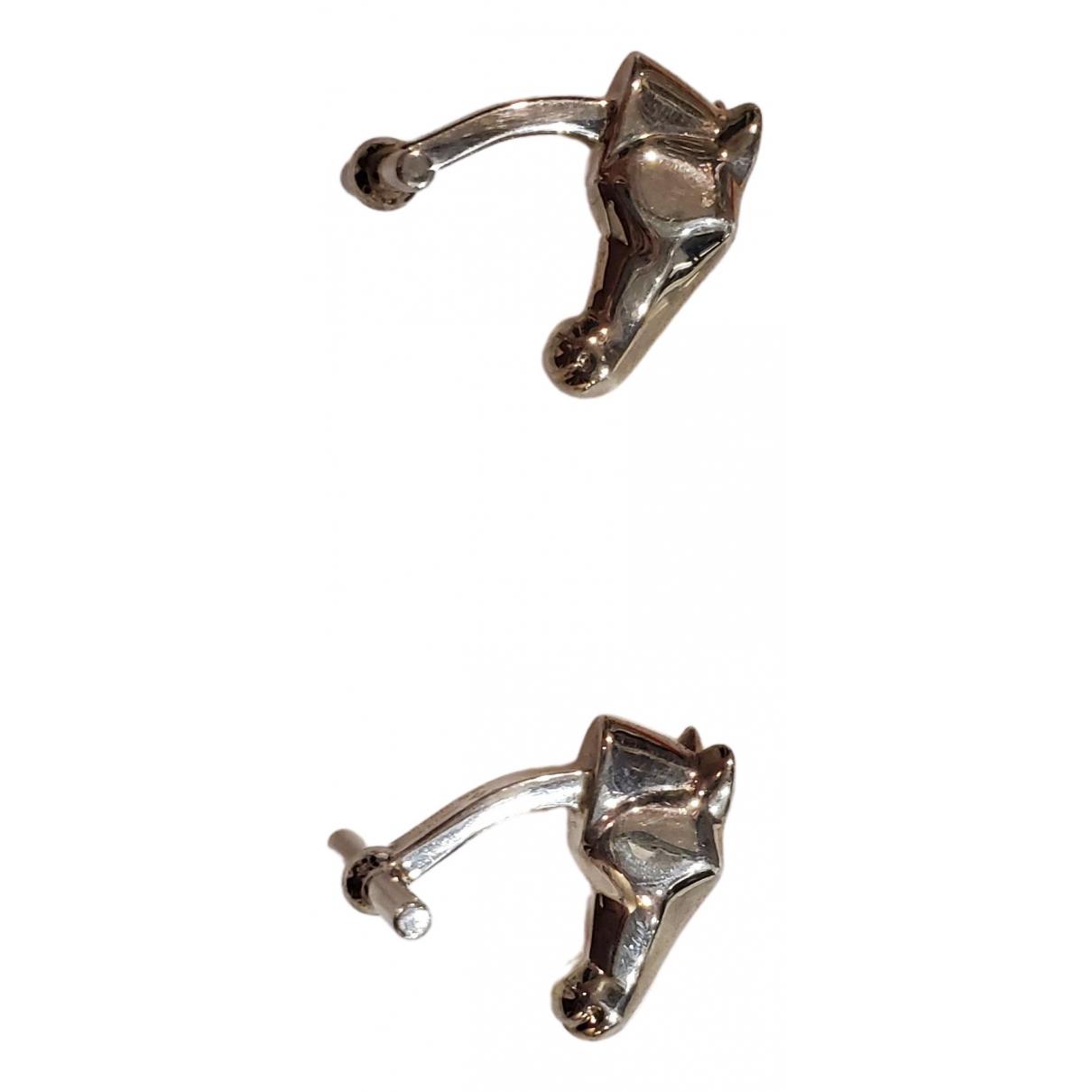 Hermès \N Silver Silver Cufflinks for Men \N