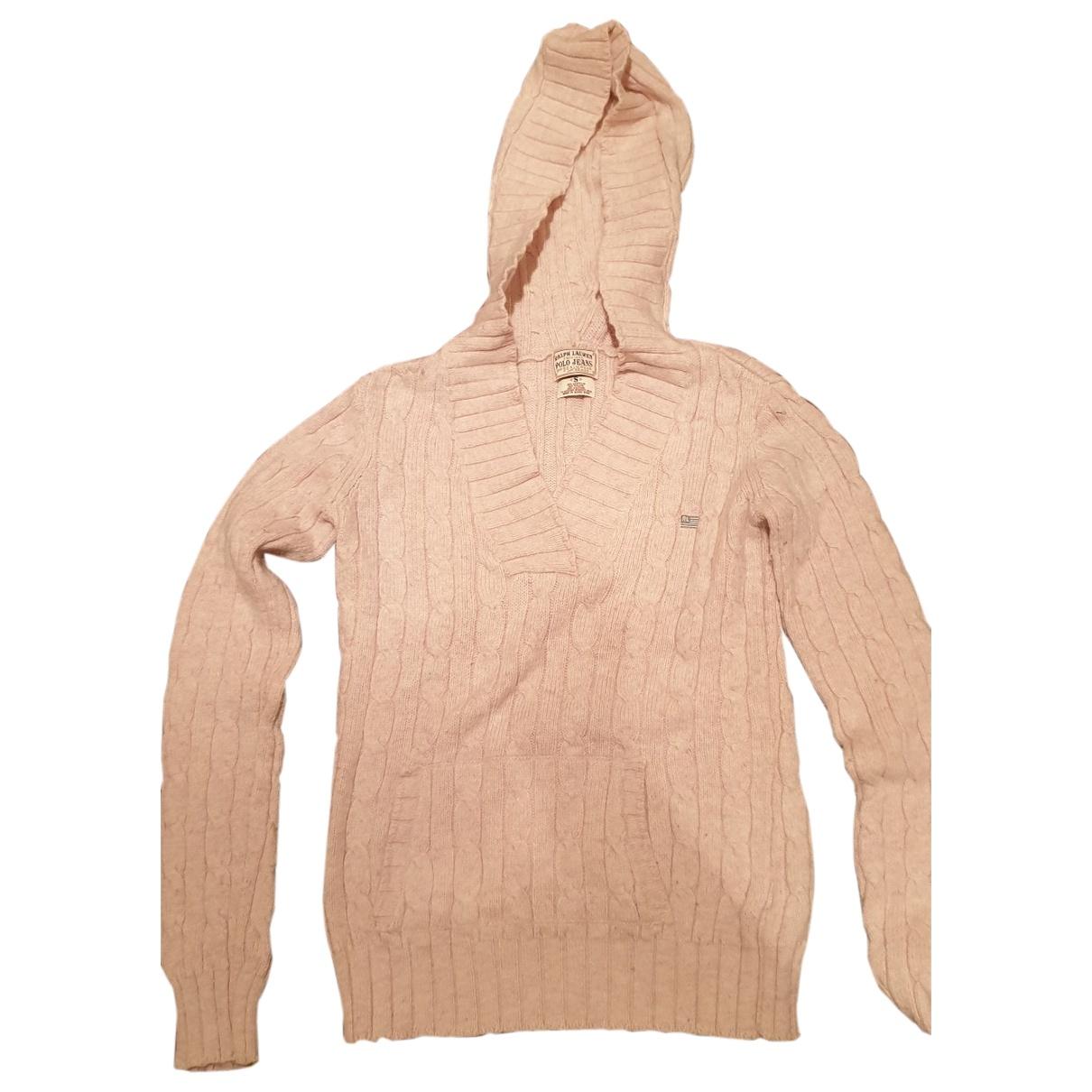 Polo Ralph Lauren \N Pink Wool Knitwear for Women 36 FR
