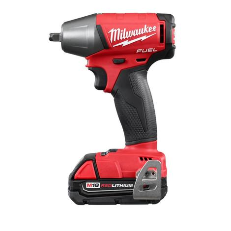 Milwaukee M18 Fuel™ 3/8 In. Compact Impact Wrench w/ Friction Ring Kit - CP Batteries