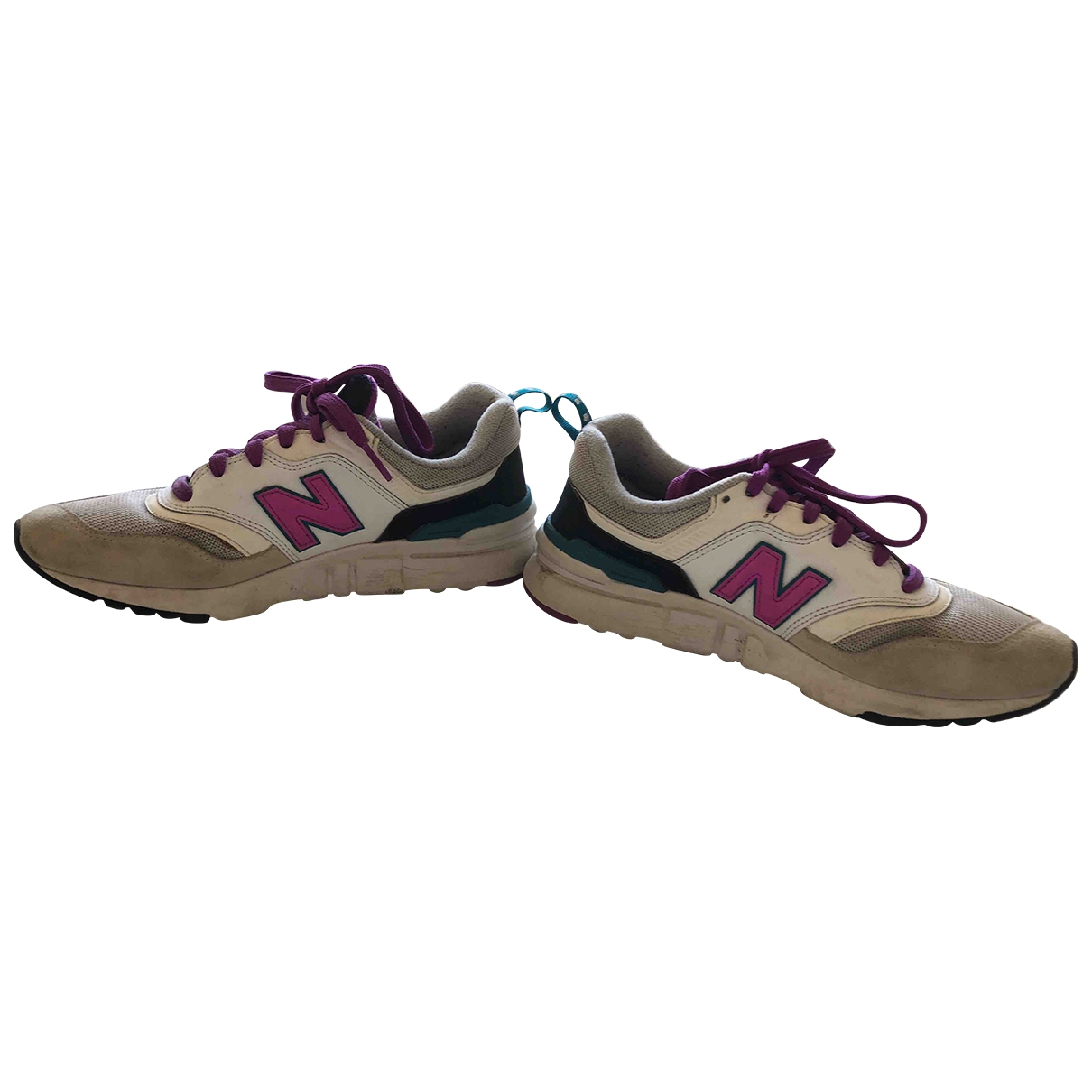 New Balance \N Leather Trainers for Women 39 EU