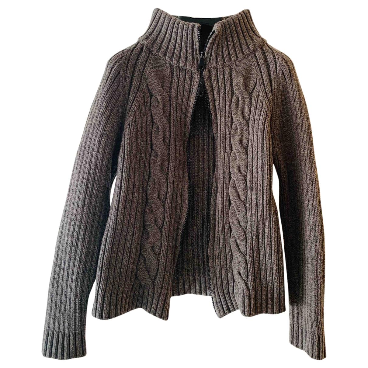 Max Mara Weekend \N Khaki Wool Knitwear for Women 44 IT