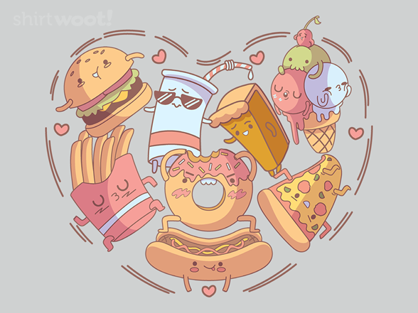 For The Love Of Fatty Foods T Shirt