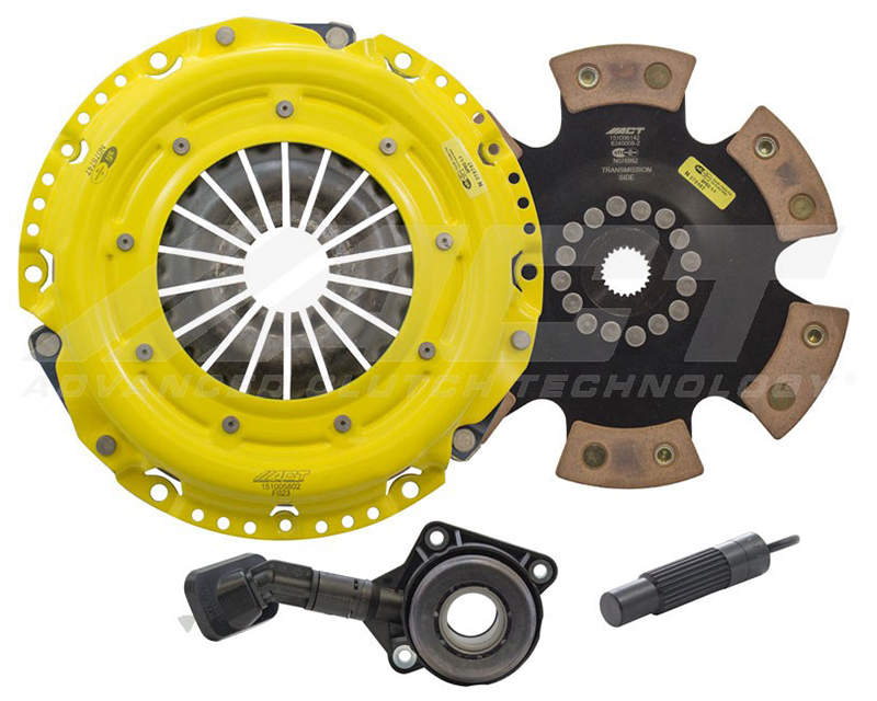 ACT FF2-HDR6 Heavy Duty Race Rigid 6 Pad Clutch Kit Ford Focus ST 13-15