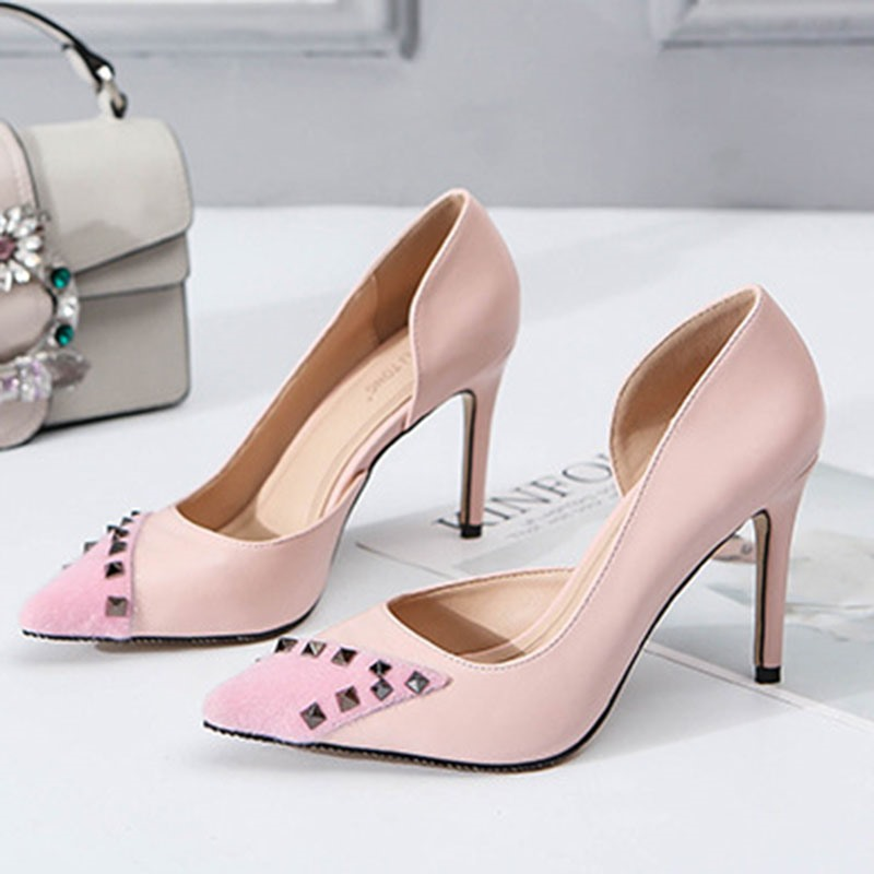 Ericdress Slip-On Thread Pointed Toe OL Pumps