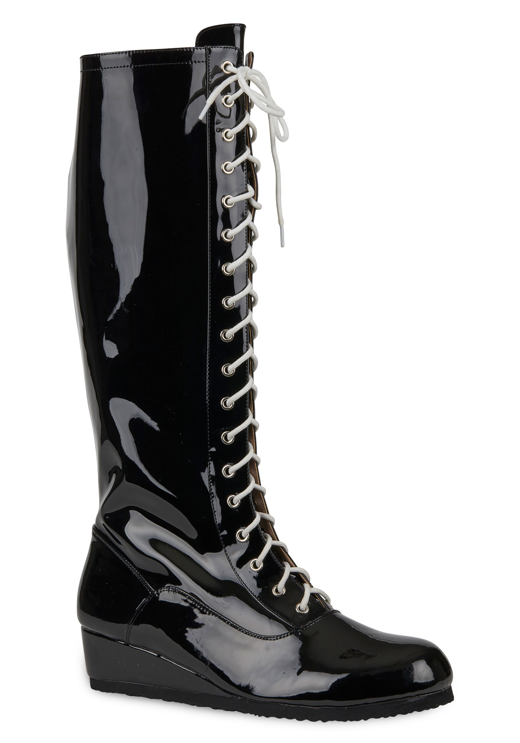 Black Wrestling Boots for Men