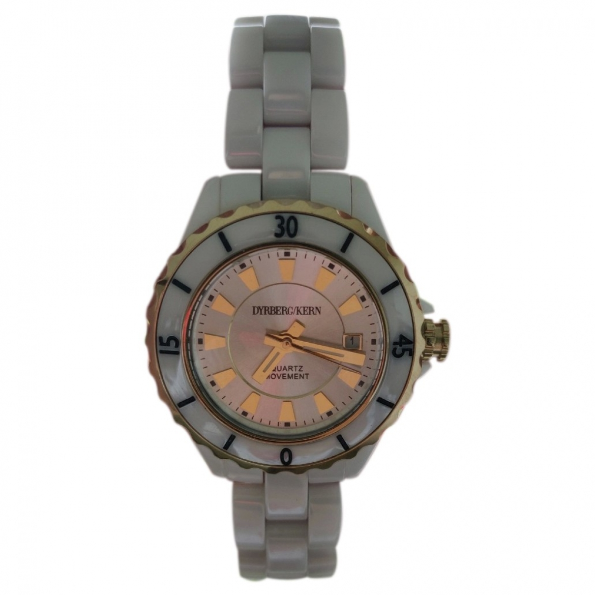 Dyrberg/kern \N White Ceramic watch for Women \N