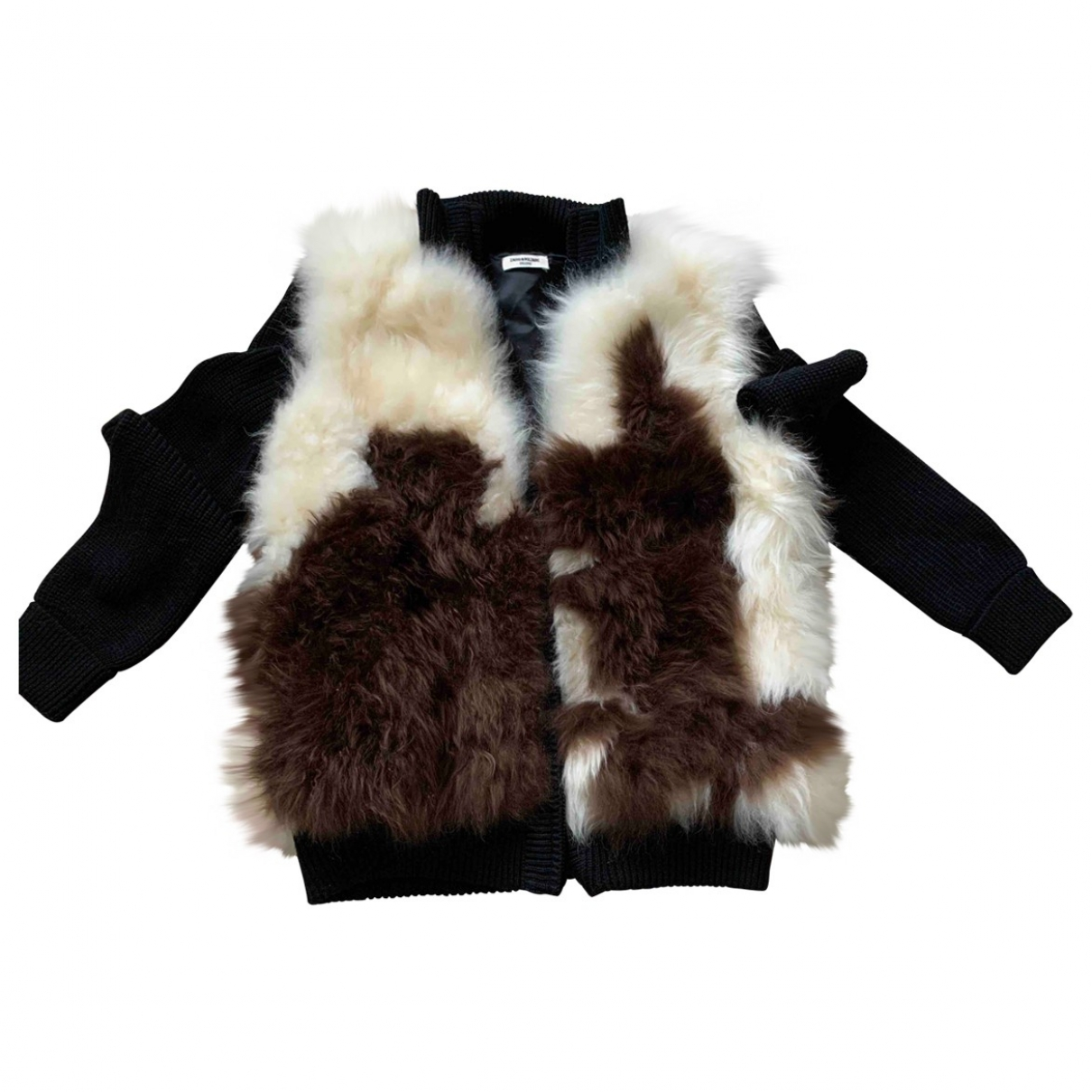Zadig & Voltaire \N Multicolour Shearling jacket for Women 38 FR