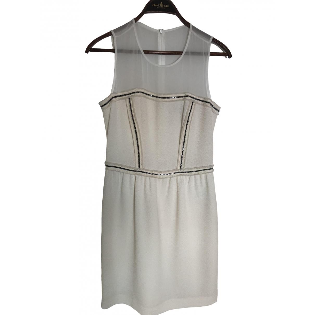 Sandro \N White dress for Women 2 0-5