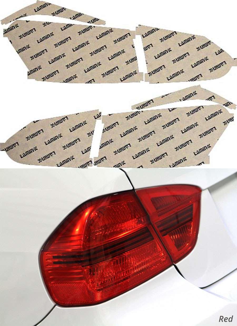 Lexus HS 10-12 Red Tail Light Covers Lamin-X L215R