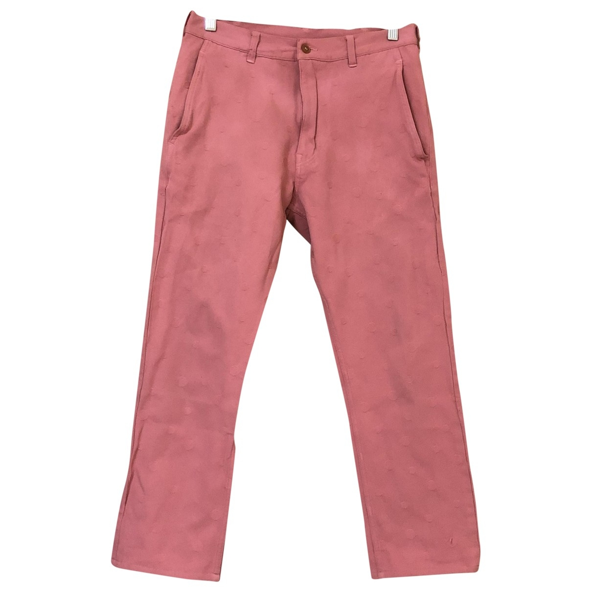 Comme Des Garcons \N Pink Trousers for Men XS International