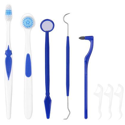 Dental Hygiene & Oral Care Set 8Pcs/Pack - LIVINGbasics™