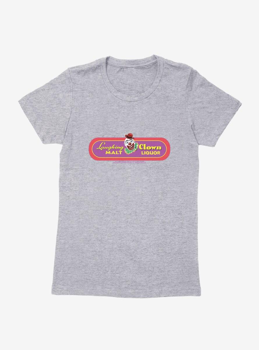Talladega Nights: The Ballad of Ricky Bobby Clown Malt Liquor Logo Womens T-Shirt