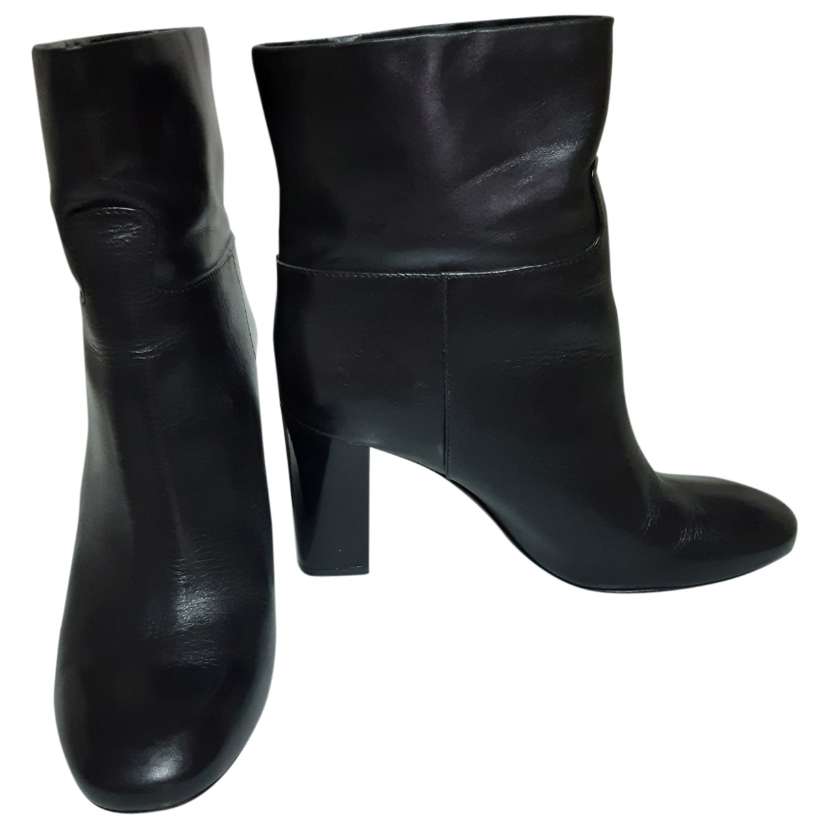 Tory Burch \N Black Leather Ankle boots for Women 38 EU