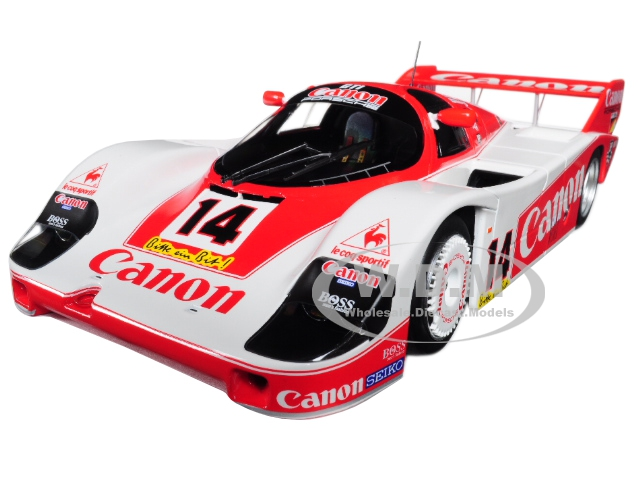 Porsche 956K 14 Canon Racing 1983 Nurburgring 3rd Place Rosberg/Lammers/Palmer Limited Edition to 600pcs 1/18 Diecast Model Car by Minichamps