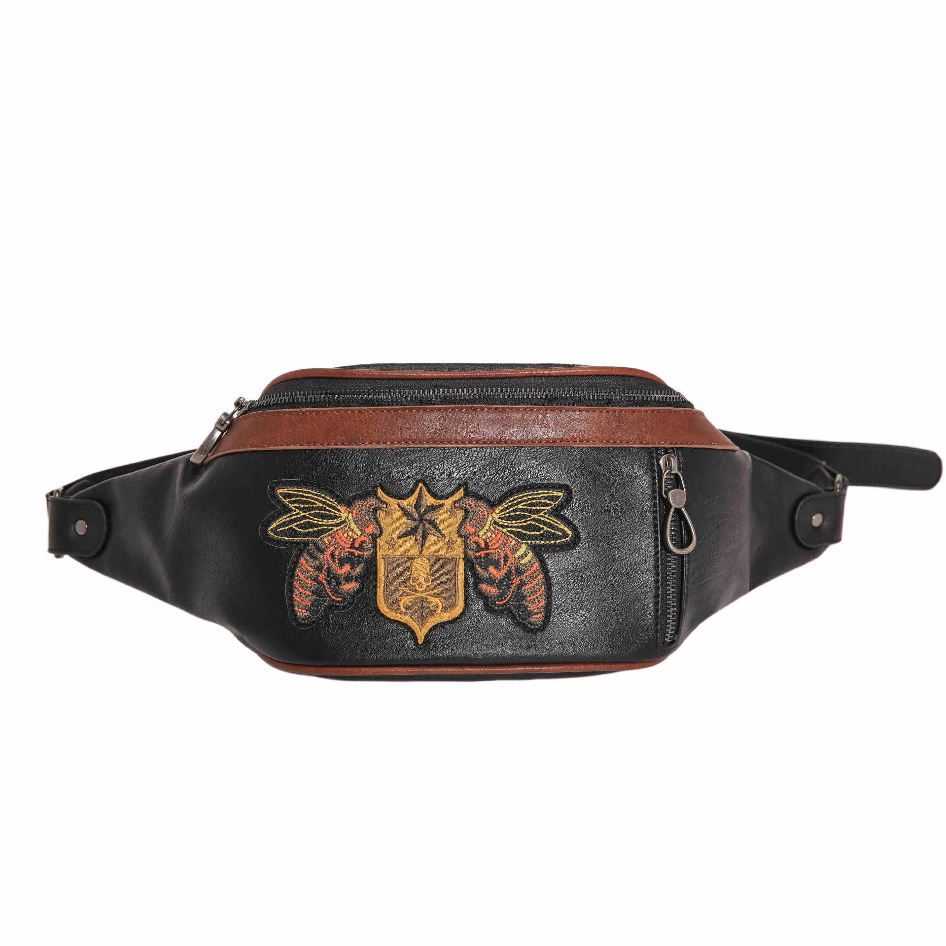 Men Large Capacity Outdoor Chest Bag Multi-functional Crossbody Bag