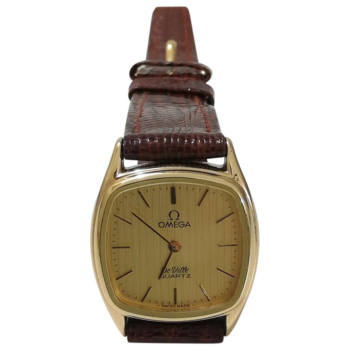 Omega De Ville  Gold Gold plated watch for Women \N