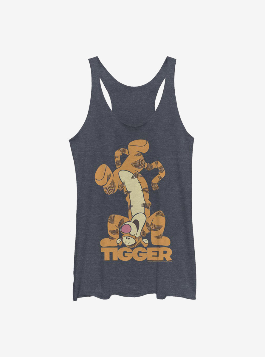 Disney Winnie The Pooh Tigger Bounce Womens Tank Top