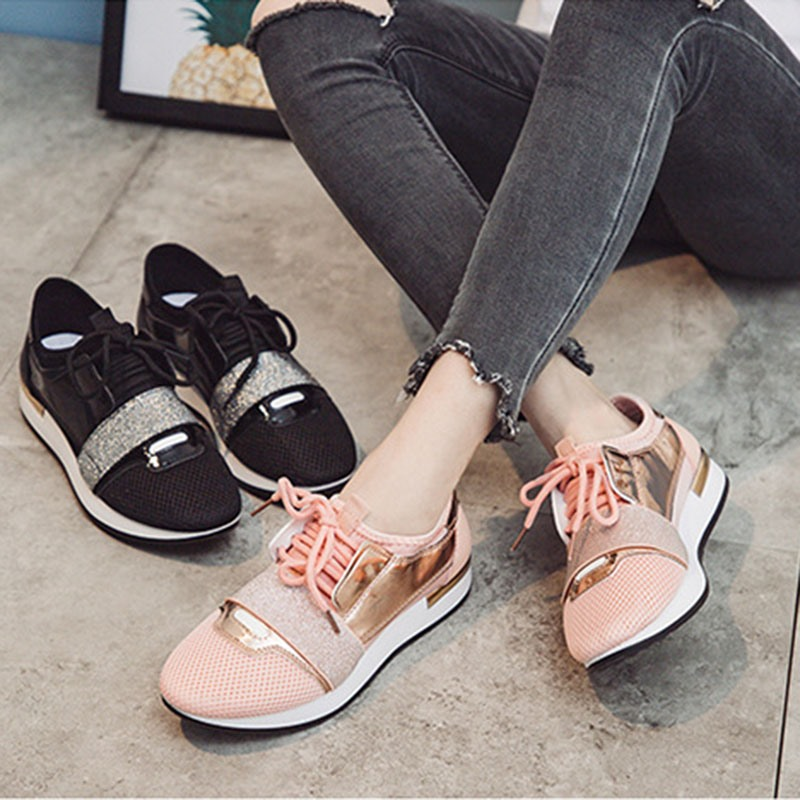 Ericdress Low-Cut Upper Lace-Up Thread Casual Sneakers