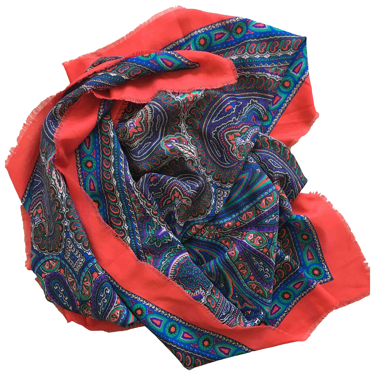 Non Sign?? / Unsigned \N Multicolour Wool scarf for Women \N
