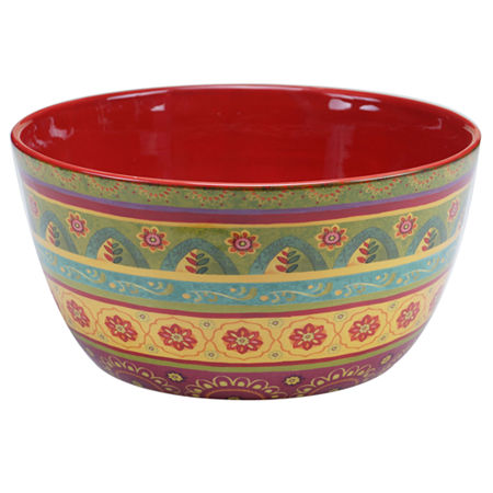 Certified International Tunisian Sunset Deep Bowl, One Size , Multiple Colors