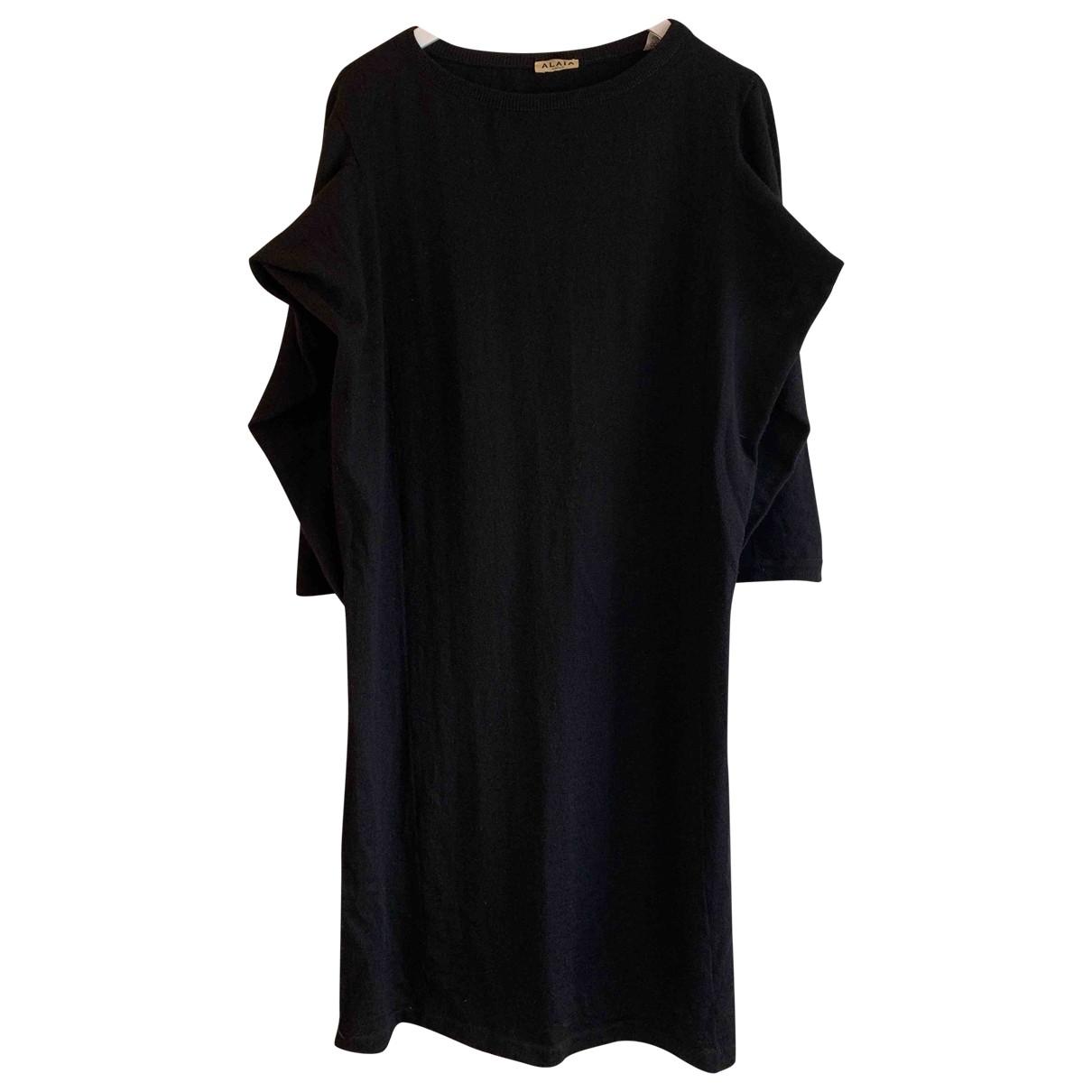 Alaïa \N Black Wool dress for Women M International