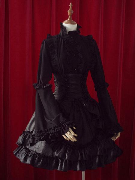 Milanoo Fantastic Layered Ruffles Cotton Lolita Skirts