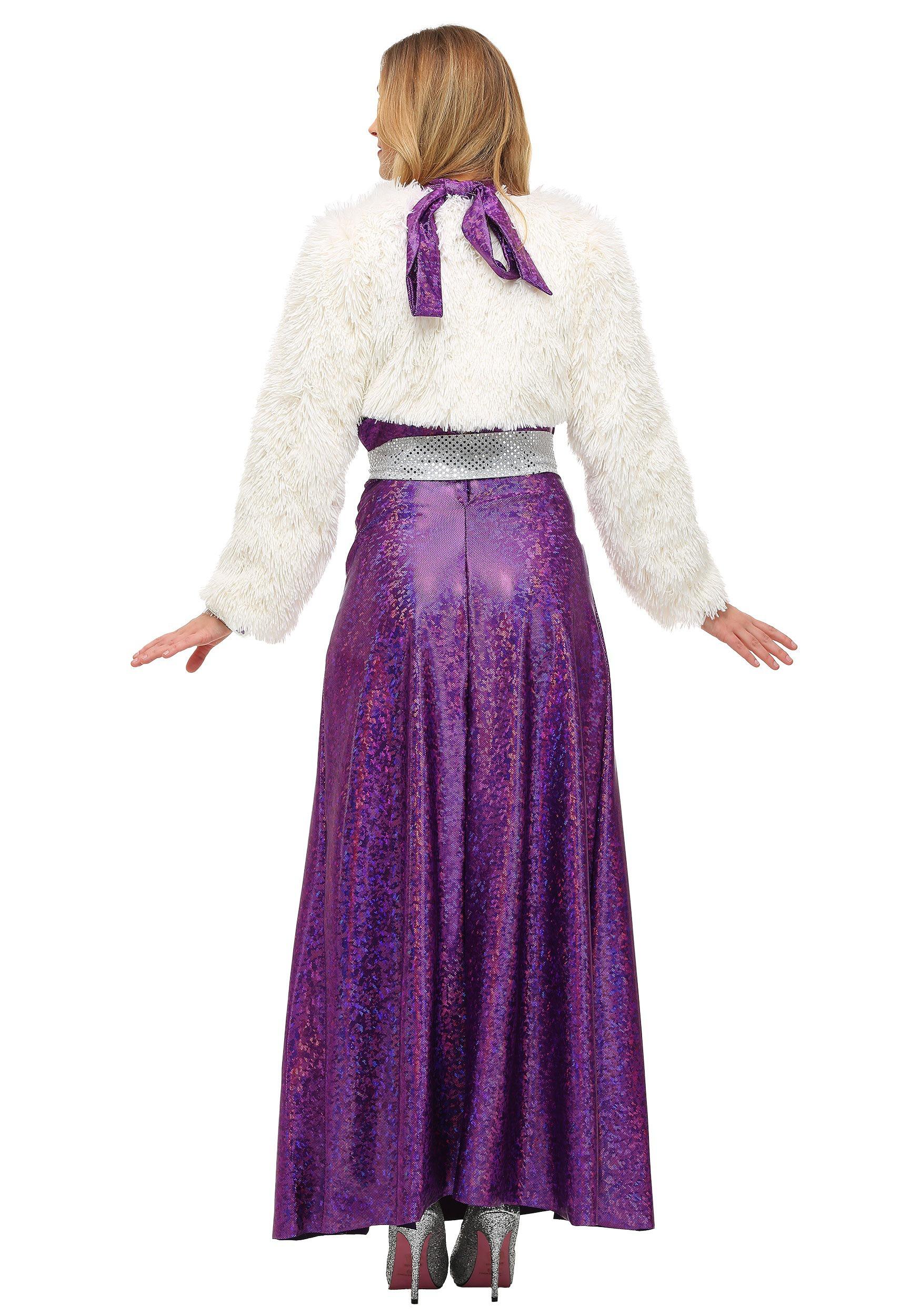 Women's Disco Ball Diva Costume Dress With accessories