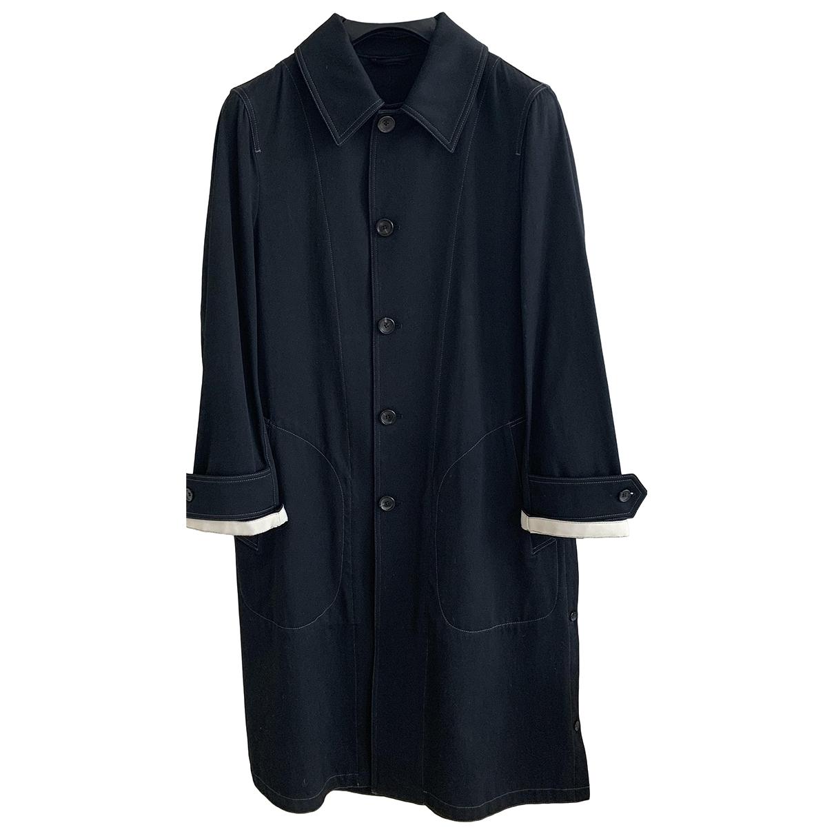 Joseph \N Navy Wool coat  for Men S International