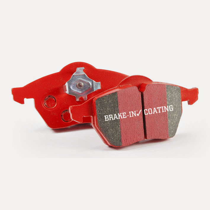 EBC Brakes DP31202C Low dust EBC Redstuff is a superb pad for fast street use. Dodge Neon 1995-1996 2.0L 4-Cyl