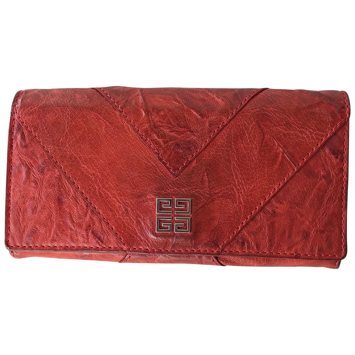 Givenchy \N Red Leather Purses, wallet & cases for Women \N